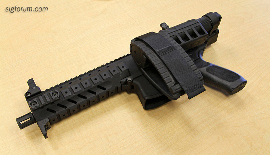 SIG SAUER MPX (Update: Exclusive Non-NFA version P7) - Topic