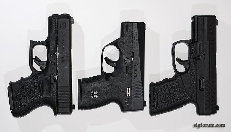 Beretta Nano vs Glock 26
